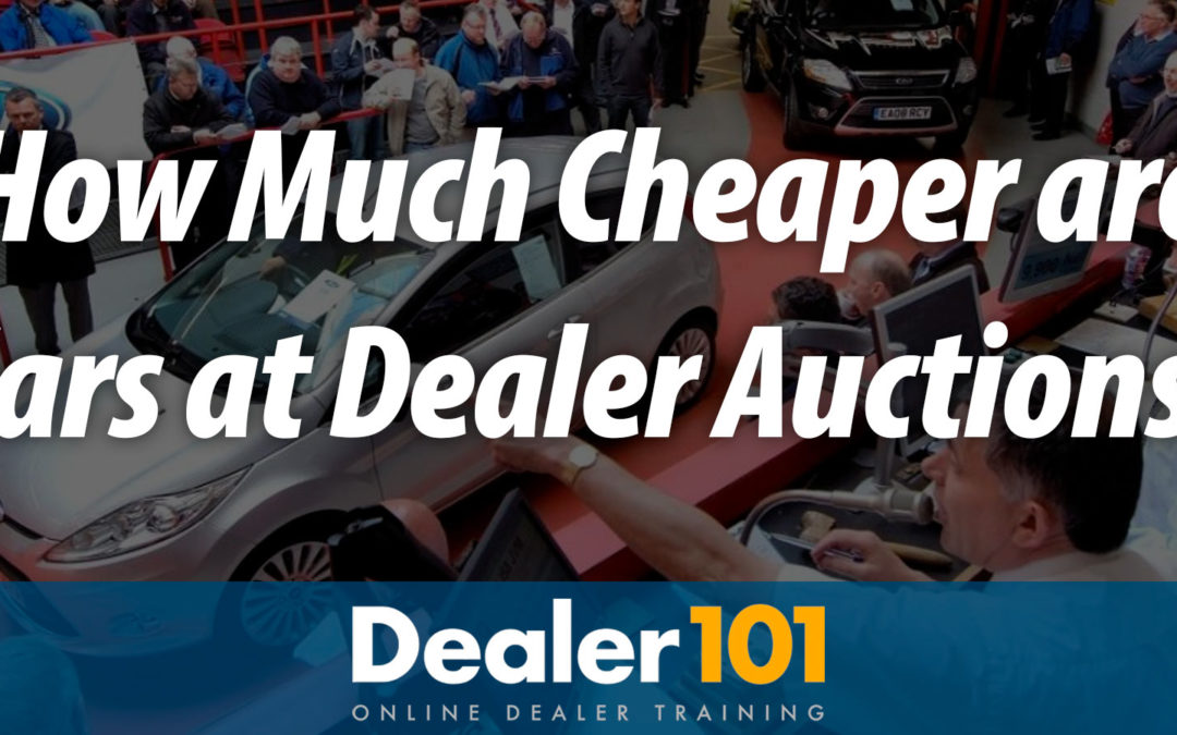 How Much Cheaper are Cars at Dealer Auctions