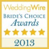 wedding wire brides choice 2013