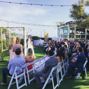 Ceremony on the Brigantine lawn